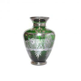 Vaso.Verde.argento.floreale.002