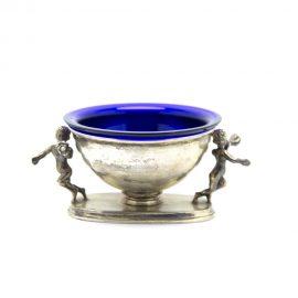 Alzatina.putti.argento.vassoio.blu003