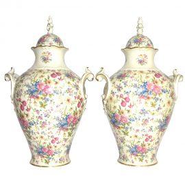 Coppia.ceramiche.floreali001