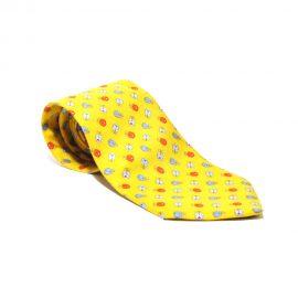 Cravatta.Etro.Gialla.Fiori01