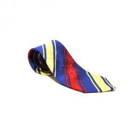 Cravatta.Fendi.Blu.Gialla.Rossa.righe01