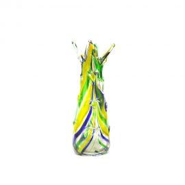 Vaso.vetro.verde.blu.giallo0